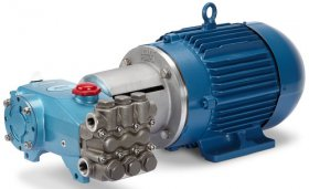 Cat Pump 7CP and Motor